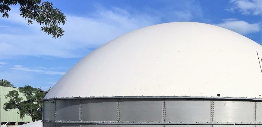 Biogas Storage Dome