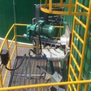 Biogas mixer - steel tank