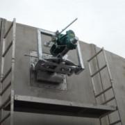 Biogas mixer - concrete tank